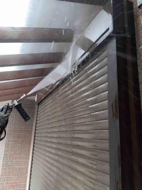 変換 ~ 入間市 屋根カバー 外壁塗装工事 高圧洗浄作業 (4)