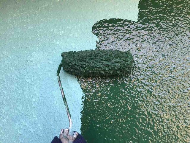 変換 ~ 飯能市 屋根カバー 外壁塗装 外壁中、上塗り (6)