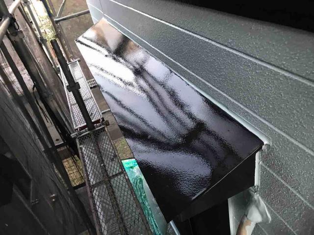 変換 ~ 入間市 屋根カバー 外壁塗装 付帯部塗装 (8)