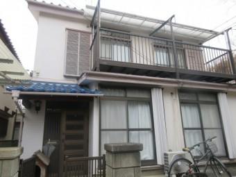東京都東大和市 屋根葺き替え、外壁塗装工事 現地調査 (4)