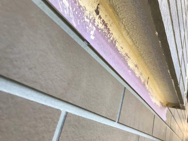 外壁塗装 パターン付け