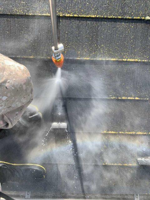 所沢市 北秋津 屋根リフォーム 外壁塗装工事 高圧洗浄 (1)