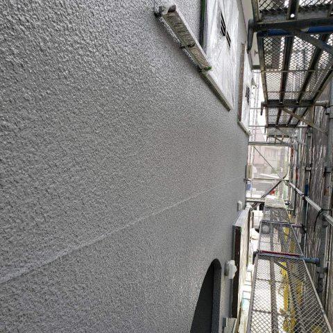 所沢市東所沢 外壁塗装作業 (3)