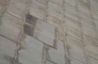 既存屋根状態 紫外線劣化