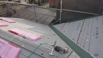 変換 ~ 入間市 屋根カバー 外壁塗装工事 屋根カバー防水紙、オークリッジ施工 (6)