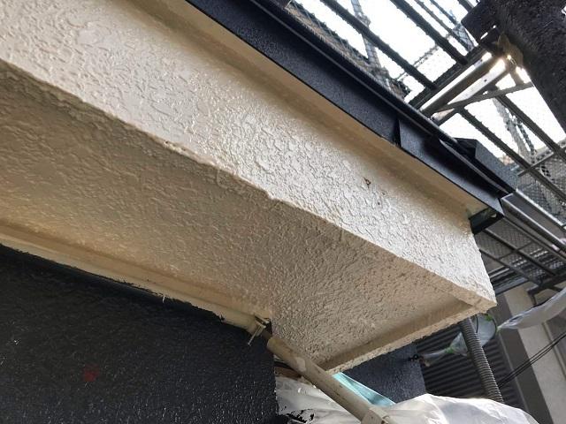所沢市 北所沢 外壁塗装 軒天塗装作業