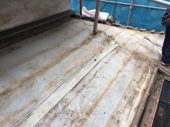 入間市 屋根葺き替え 清掃