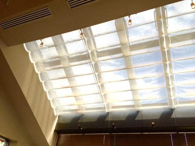 通気性の向上、省エネに繋がる明るい天窓(トップライト)