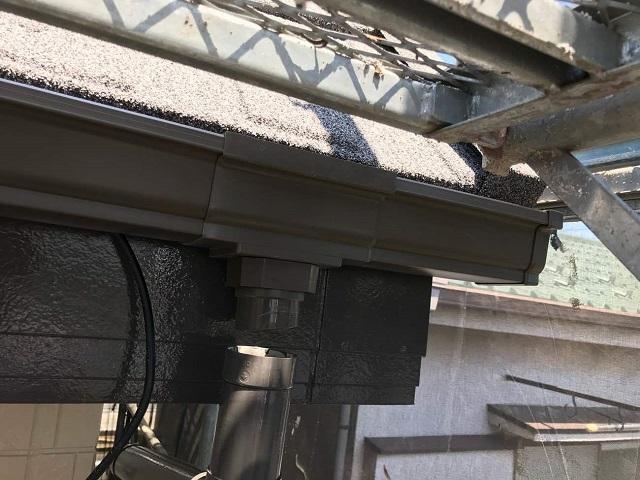 所沢市和ケ原 屋根カバー、天窓撤去、外壁塗装工事 雨樋交換5