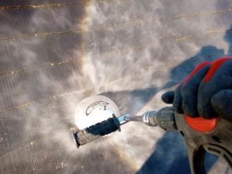 狭山市広瀬 屋根カバー工事 外壁塗装 高圧洗浄作業