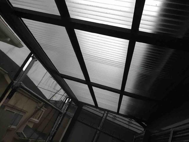 変換 ~ 飯能市 屋根カバー 外壁塗装 波板交換 (1)