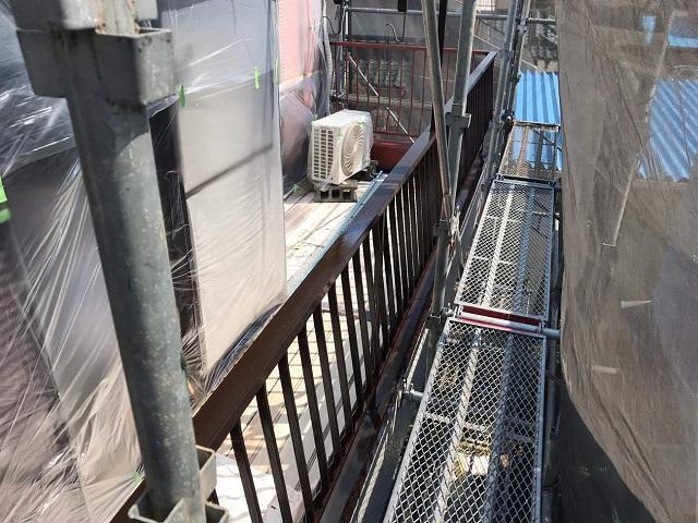 所沢市北野南 屋根カバー、外壁塗装工事 付帯部塗装3