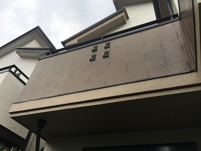 東京都 東村山市 屋根カバー工事 外壁塗装作業 付帯部塗装 ベランダ塗装 施工後