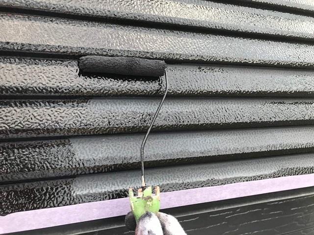 所沢市 東狭山ヶ丘 付帯部塗装 雨戸