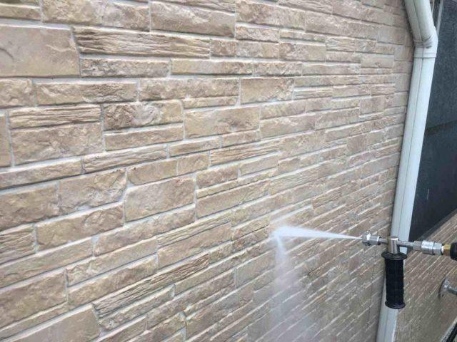 入間市 屋根・外壁塗装 高圧洗浄作業 (5)