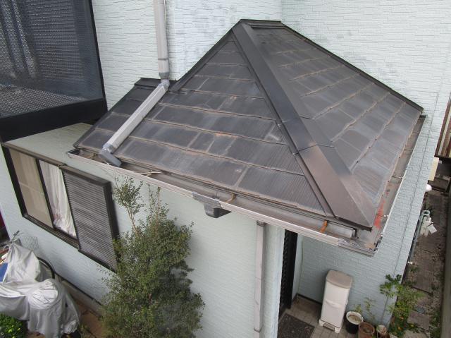 所沢市山口 セネターカバー下葺き 既存屋根