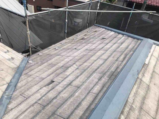 所沢市 北秋津 屋根リフォーム 外壁塗装工事 ドローン現場調査 スレート屋根ひび割れ、欠け