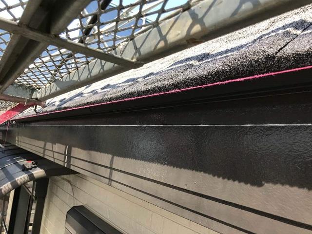 所沢市和ケ原 屋根カバー、天窓撤去、外壁塗装工事 雨樋交換2