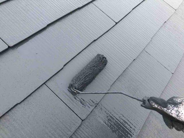 所沢市 東所沢 屋根塗装 フッ素塗料 (7)