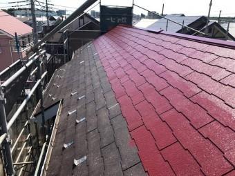 狭山市広瀬 屋根・外壁塗装 屋根塗装2