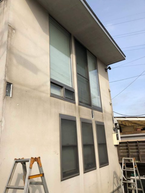 所沢市若狭 屋根・外壁塗装 ベランダ解体工事 (10)