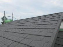 東京都東村山市 屋根カバー工事(セネター)、外壁塗装工事 施工後