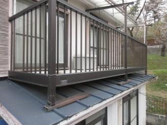 東京都東大和市 屋根葺き替え、外壁塗装工事 現地調査 (27)