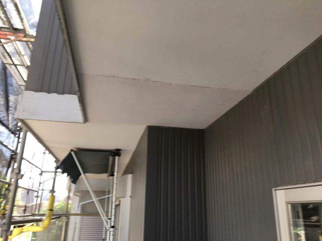 狭山市南入曽 屋根塗装・外壁塗装 軒天補修作業 (7)