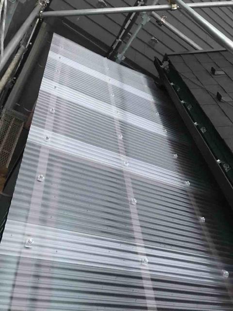変換 ~ 飯能市 屋根カバー 外壁塗装 波板交換 (2)