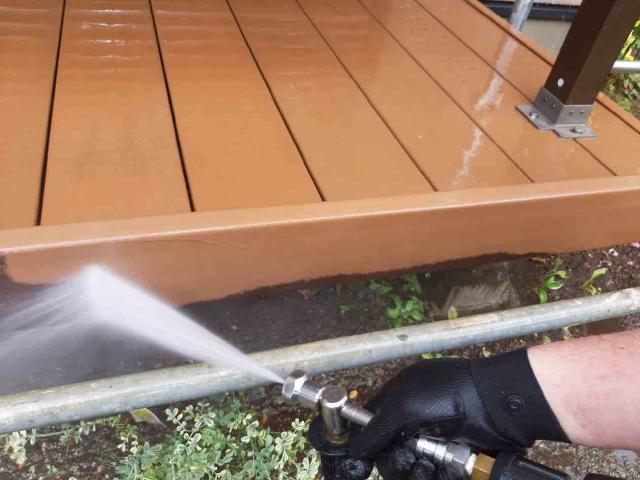 変換 ~ 入間市 屋根カバー 外壁塗装工事 高圧洗浄作業 (8)