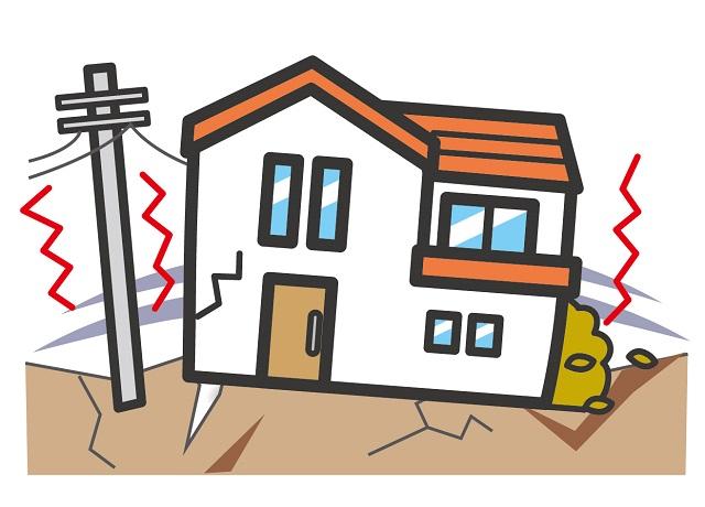 外壁のひび割れは地震保険で補修費用が賄える?