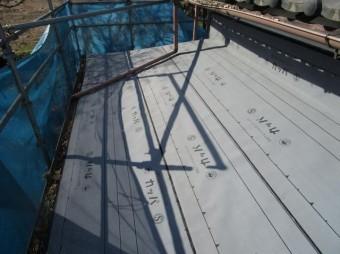 入間市 屋根葺き替え 下葺き