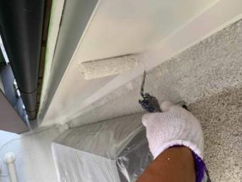 所沢市東所沢 屋根、外壁塗装 付帯部塗装作業 (8)
