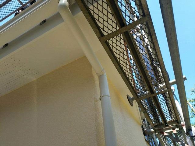東京都東大和市 屋根葺き替え、外壁塗装工事 雨樋・波板交換4
