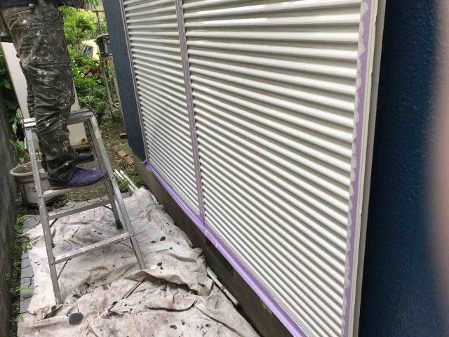 所沢市 小手指元町 屋根カバー 外壁塗装 付帯部 塗装仕上げ (3)