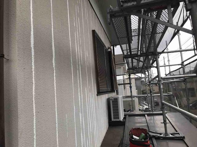 外壁ひび割れ(クラック) コーキングによる補修作業 2