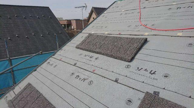 所沢市東所沢 屋根葺き替え、外壁塗装工事 セネター施工 (10)