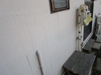 所沢市北中 セキスイかわらU屋根 葺き替え工事 現地調査 塗膜の割れ