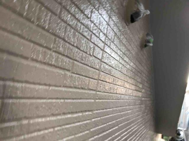 変換 ~ 入間市 屋根カバー 外壁塗装工事 ガイソーウォールタフネスシリコンⅡ施工 (11)