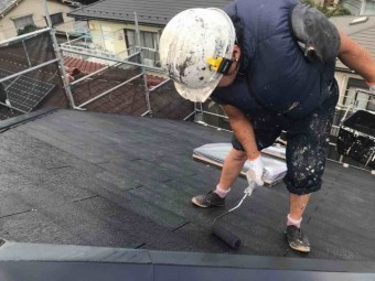 入間市 屋根塗装 無機塗料 (37)