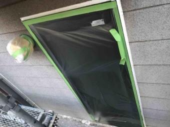 変換 ~ 入間市 屋根カバー 外壁塗装 養生作業 (1)