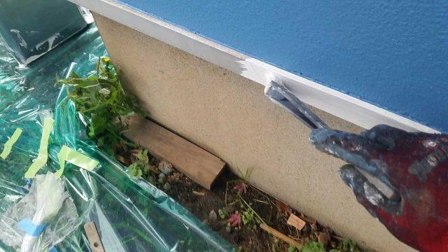 所沢市若狭 屋根・外壁塗装 付帯部塗装作業 (18)
