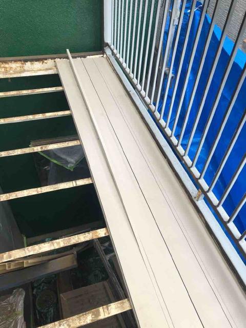 変換 ~ 飯能市 屋根カバー 外壁塗装 ベランダ付け替え (2)