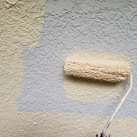 東京都東大和市 屋根葺き替え、外壁塗装工事 無機塗料による外壁塗装2