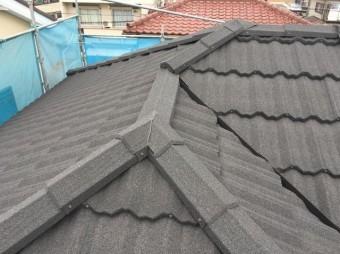 屋根カバー工法 セネター 施工後