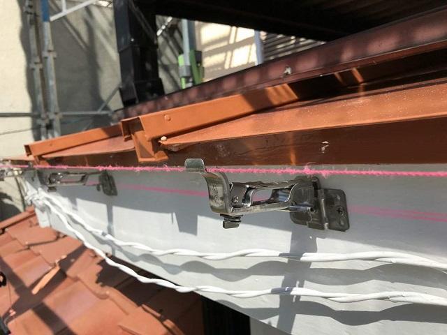 東京都東大和市 屋根葺き替え、外壁塗装工事 雨樋・波板交換1