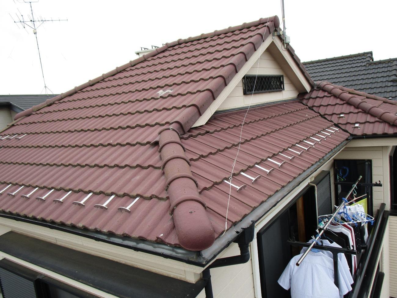 狭山市広瀬台 屋根・外壁塗装 現地調査 (1)
