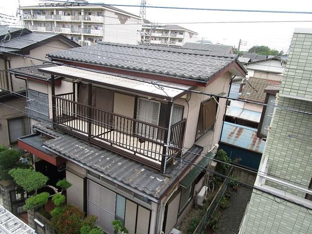 所沢市 松郷 屋根葺き替え、外壁塗装工事 施工前