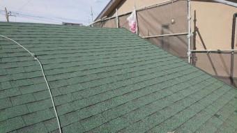 変換 ~ 入間市 屋根カバー 外壁塗装工事 屋根カバー防水紙、オークリッジ施工 (9)