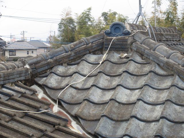 東京都東大和市 屋根葺き替え、外壁塗装工事 現地調査 (20)